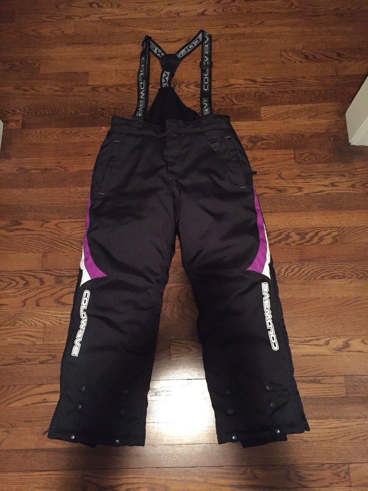 NWOT Coldwave womens size 8 Ski Pants Bibs