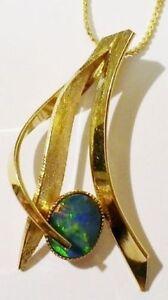 pendentif-chaine-bijou-vintage-couleur-or-pierre-style-opale-verte-4853
