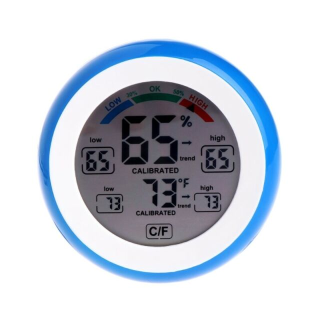 Digital Hygrometer Thermometer Humidity Meter Indoor Temperature LCD Display