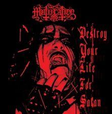 Mutiilation - Destroy Your Life For Satan CD 2011 official press black metal