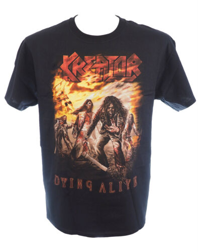 KREATOR Official Licensed T-Shirt DYING ALIVE New M L Heavy Metal