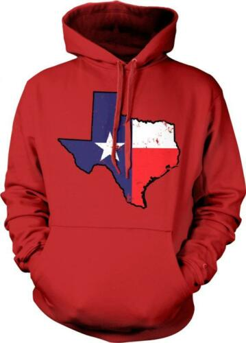 Texas Map Outline Lone Star State Pride Tejas Texan Tejano Hoodie Pullover