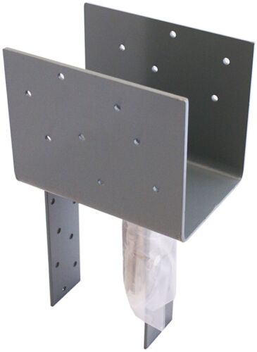 Common: 6-in; Actual: 8.5-in USP Steel Painted Post Cap