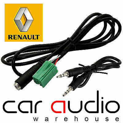 RENAULT Espace 2005-2011 Car Stereo MP3 iPod iPhone Aux In Input Lead CT29RN02