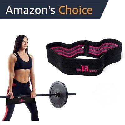 Men Women Elastic Legs Exercise Resistance Bands /& Expanders HIP CIRCLE Glute
