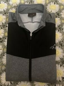 Greg Norman Mens Black And Grey Light Weight Jacket Size XXL
