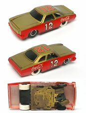1972 TYCO Pro ALLISON CHEVELLE LAGUNA S3 Slot Car COCA-COLA #12 8107 RARE Runner