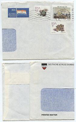 51120 - Südafrika - Sichtfensterumschlag Deutsche Schule Durban Uitstekende Kwaliteit