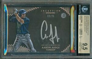 2015-Bowman-Inception-AARON-JUDGE-Yankees-Rookie-Card-12-25-BGS-9-5-Auto-BGS-10