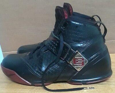 18d8c69d Details about Nike Zoom Lebron V 5 Black/Crimson/Gold- Men's 317253 001 Sz  11