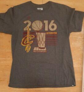 escritorio repentino Inflar  Cleveland Cavaliers Camiseta de hombre 2016 campeones de la NBA Adidas L  Grande Nuevo Nuevo con etiquetas t185 | eBay
