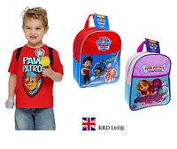 Official PAW PATROL Kids BACKPACK Girls Boys School Rucksack Bag Birthday Gift