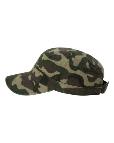 New Unisex Valcap Fidel Military Cadet Cap Army Style Hat VC800 Chino Twill