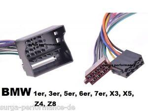 VW-T4-Ford-Quadlock-Adapter-Kabel-AUTORADIO-RADIOADAPTER-gt-gt-NEU-lt-lt