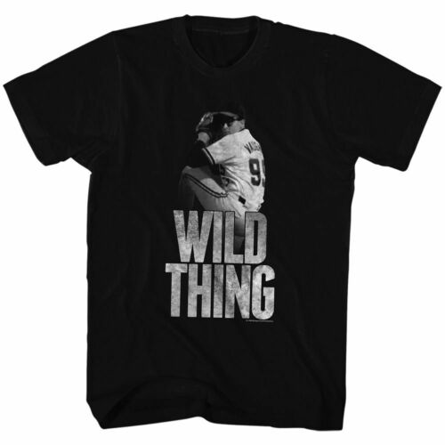 Major League Wild Thing Black Adult T-Shirt