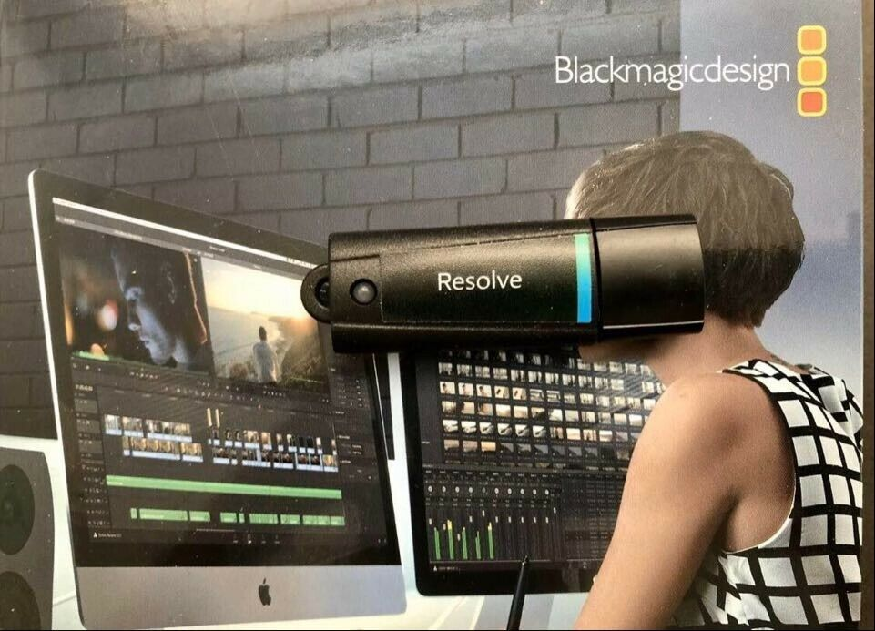 Blackmagic Design Davinci Resolve 12 Studio Software For Sale Online Ebay