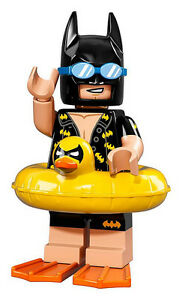 NEW LEGO BATMAN MOVIE MINIFIGURES SERIES 71017 Vacation Batman Rubber Ducky