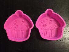 Set da 2 Cupcake Silicone Stampi Torta Cottura al forno Decorazione Dolci