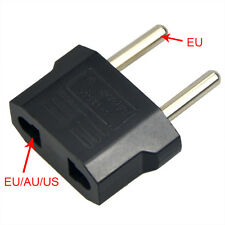 5x Reise Stecker Adapter US USA, AU, EU to EU Euro Europe