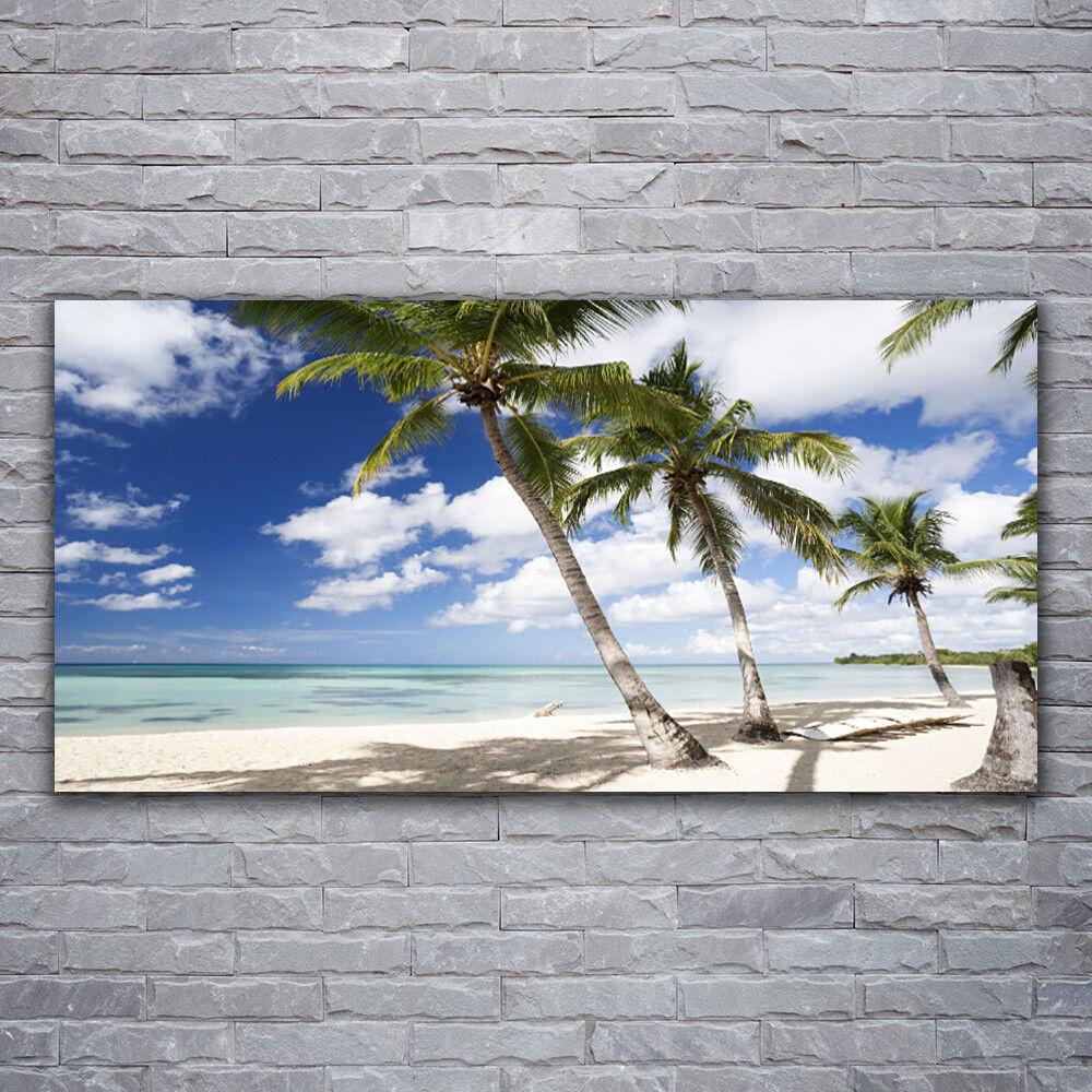 Acrylglasbilder Wandbilder aus Plexiglas® 120x60 Meer Strand Palmen Landschaft