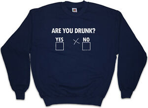 dronken je Pullover Drinker Cross Barfly Hangover Boose Leuk Ben sweater Party fn5W7Ufx