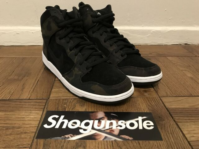 pretty nice 86027 2ab5c Nike Dunk High Pro SB Iguana black DS US Sz 12 Camo 305050 205 for sale  online   eBay