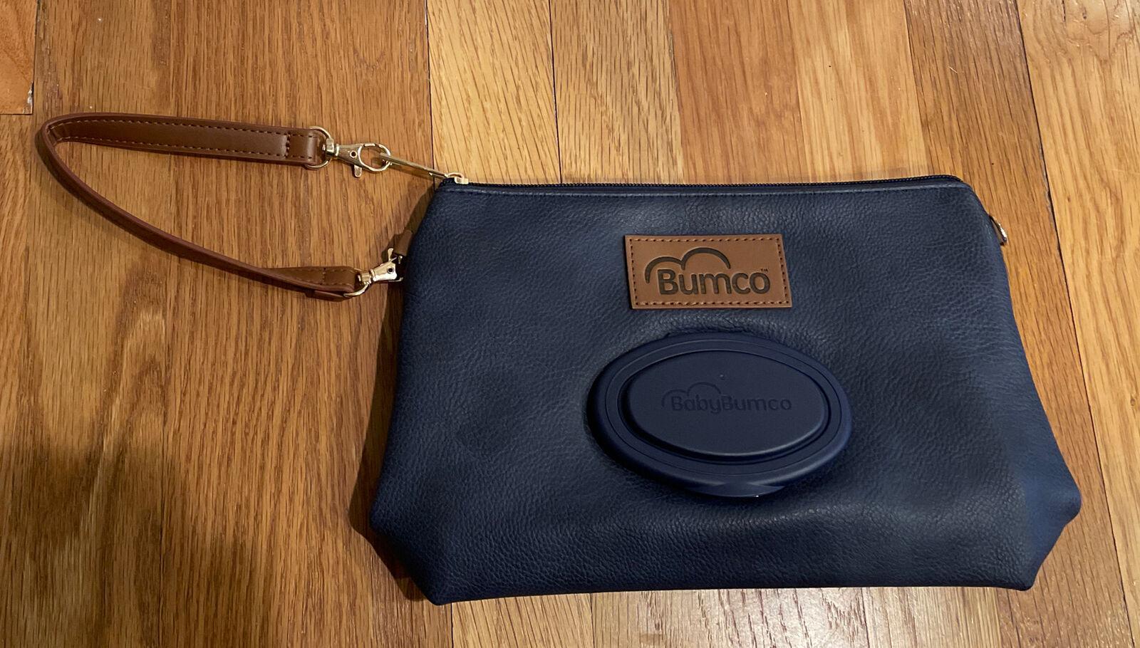 Baby Bumco Diaper Clutch Bag – Water Resistant; Lightweight; Navy