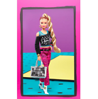 Mattel FXD87 11.5 inch Barbie Collector Keith Haring Doll
