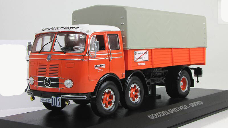 1 43 IXO Mercedes Benz Lp 333 Bentrup 1970 camioneta TRU008