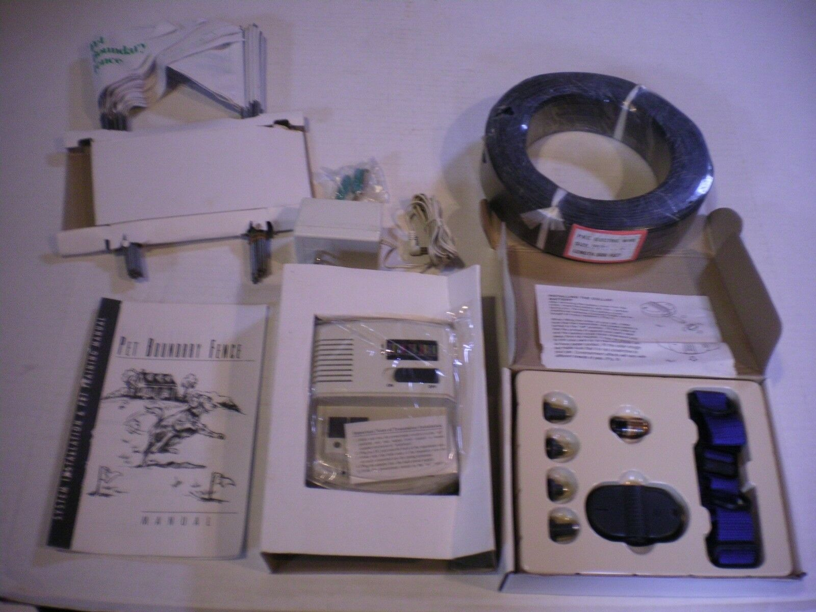 Electric Pet Boundary Fence by 21st Century Pets NOS