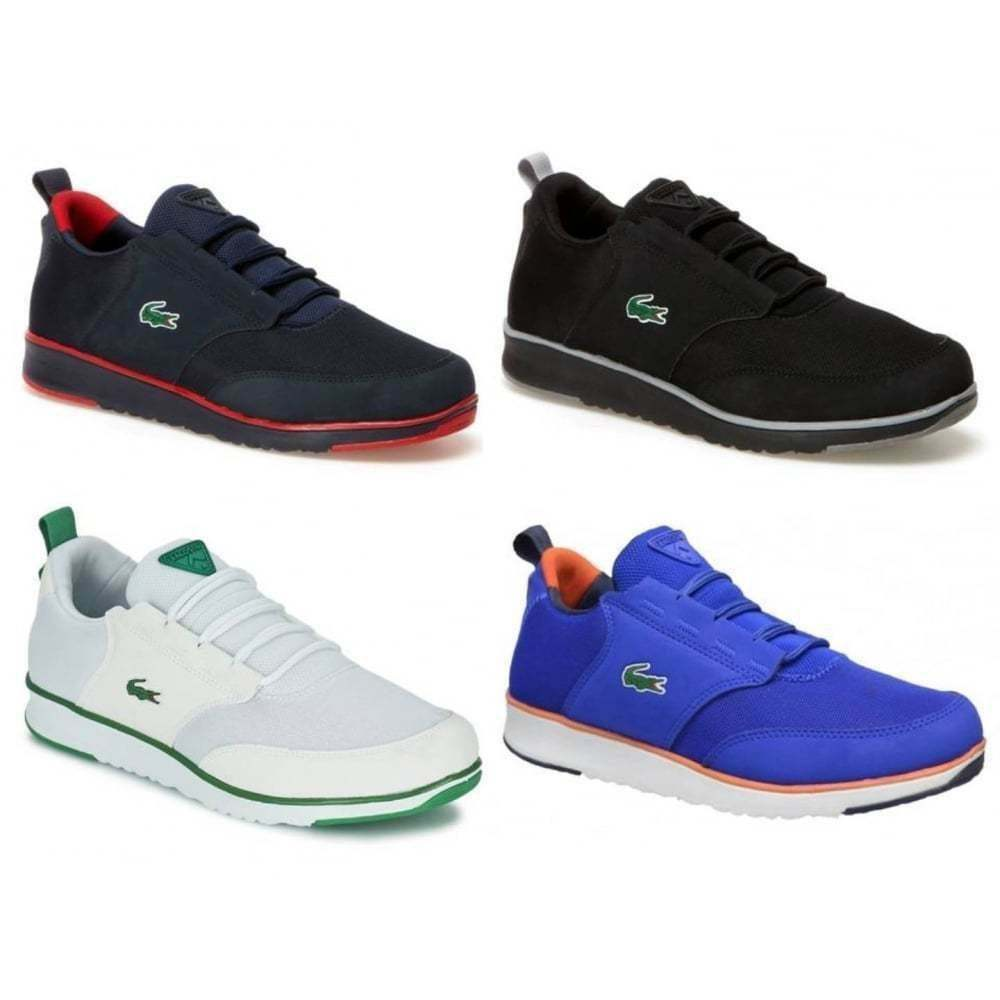 Lacoste Light 116 1 SPM Textile  Mens Trainers All Sizes in Various Colours