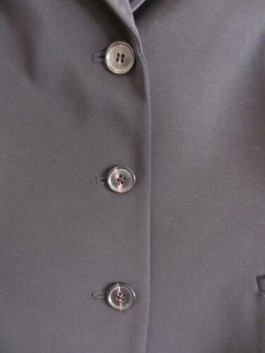 Button Tahari Poly 2 tasche Blazer Nwot Black spandex 10 Front Foderato Taglia qaFHRa