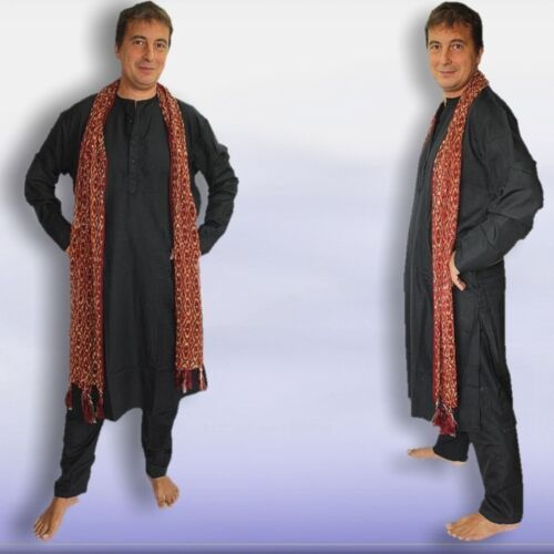 Hommes Costume Sherwani Kurta Taille M 48 L/'Inde Bollywood Méditation Yoga serment