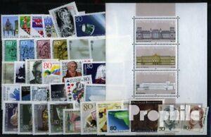 BRD-postfrisch-1986-kompletter-Jahrgang-in-sauberer-Erhaltung