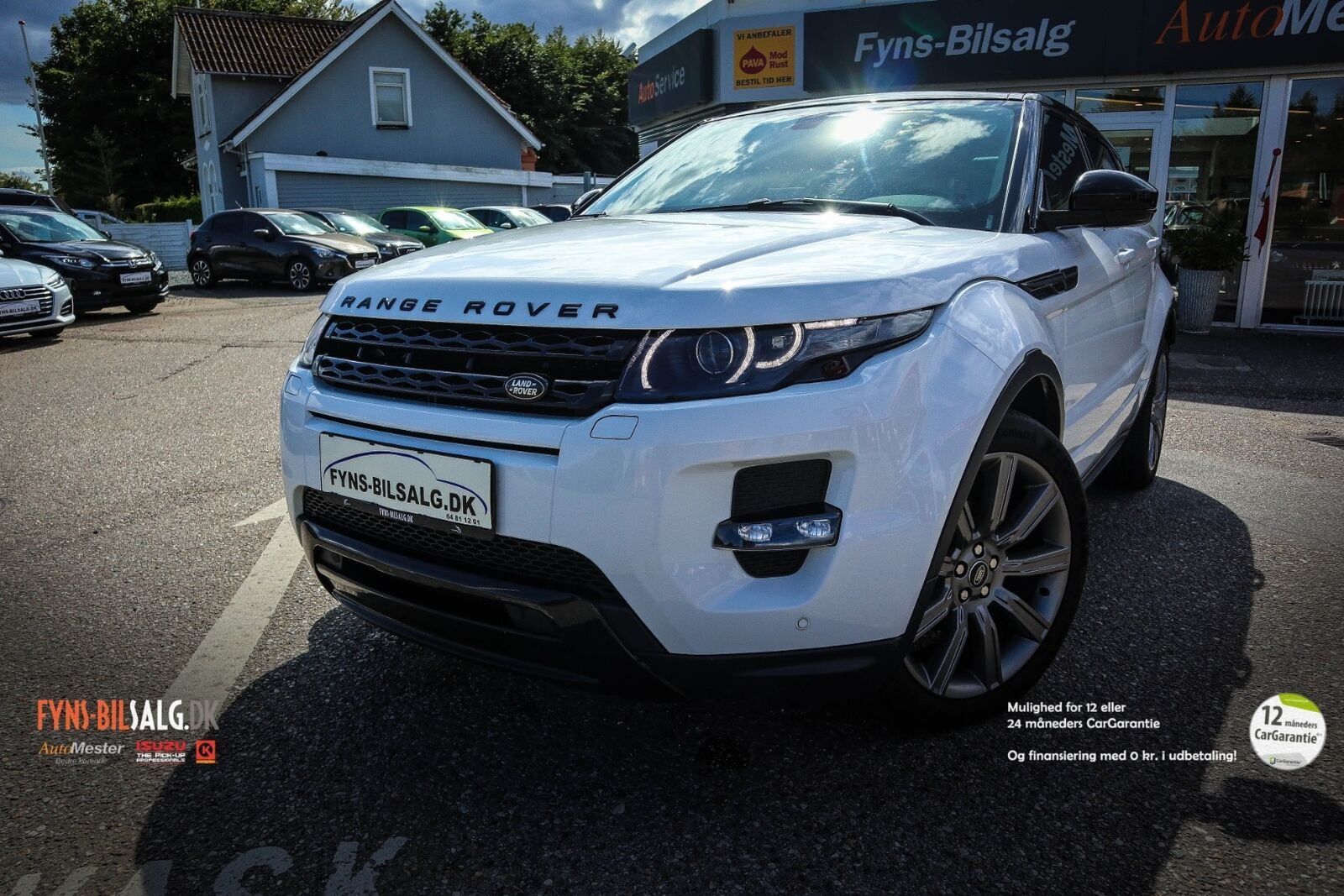 Land Rover Range Rover Evoque 2,2 SD4 Pure Tech aut. 5d
