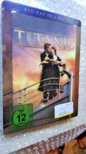 Titanic 3D und 2D - Lenticular Steelbook - Blu-ray - NEU & OVP!