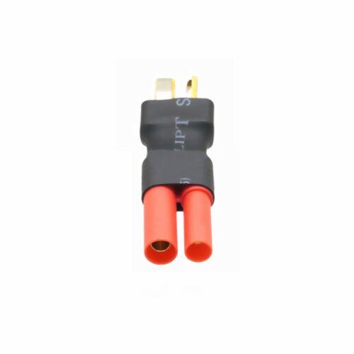 Aucun fil Adaptateur Connecteur Hxt 4 Mm to T-Plug Deans pour RC Lipo Batterie À faire soi-même