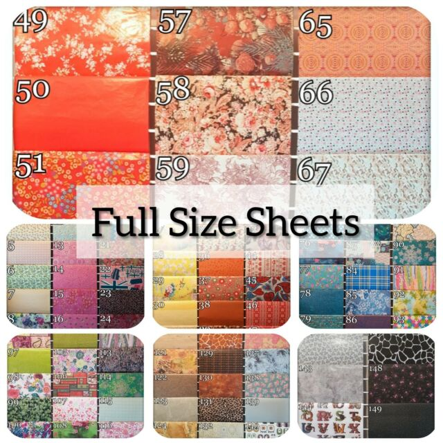 Decoupage Decopatch Paper Full Sheets Choose from Many Spots /& Stripes Designs