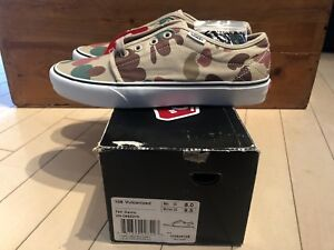 bf5f1b103d Supreme NYC x Vans 106 Vulcanized Duck Camo Tan Brown Green size 8 ...