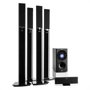 Home-Theatre-5-1-Cinema-Sistema-Audio-5-Satelliti-Subwoofer-Bluetooth-USB-145W