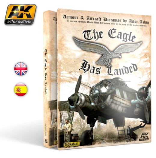 AK-Interactive Colour Book - The Eagle Has Landed (English, 292 pages)