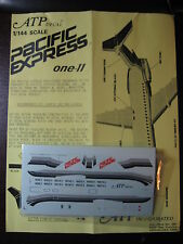1/144 ATP DECALS ONE-11 1-ELEVEN PACIFIC EXPRESS  DECALCOMANIE