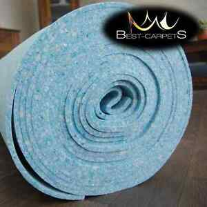 Image is loading BEST-Quality-Luxury-Foam-Carpet-Blue-Underlay-softly-