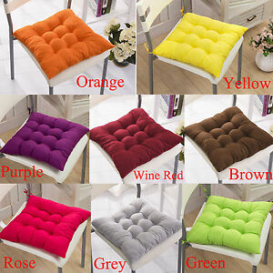 Soft Garden Seat Pads Dining Room Kitchen Chair Cushions Outdoor Patio Pillows Ebay