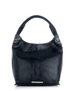 Bag Rrp cuero 210 Bag negro de French Shaftsbury Jack Slouch Ladies London wxIqpvPn0