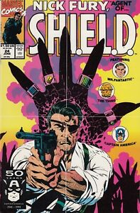 Nick-Fury-Agent-of-SHIELD-1989-series-24-in-NM-condition-Marvel-comics