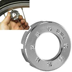 Spoke wrench nipple key bike cycling wheel Rim spanner 6 way bicycle wrench toVE