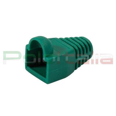 Inventivo 50x Copriconnettori Gommini Copriplug Per Cavo Di Rete Ethernet Rj45 Lan Verde