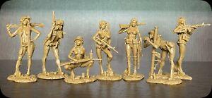 Soldats jouets Plastic Platoon Guerre du Vietnam Playboy Girl 1:32