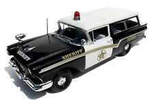 2015 monogram 1957 Ford Del Rio Ranch Wagon 1:25  Police package or  factory sta